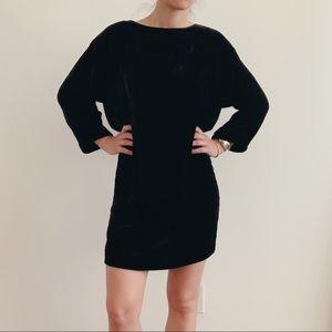 Velvet Mini Dress 🦊